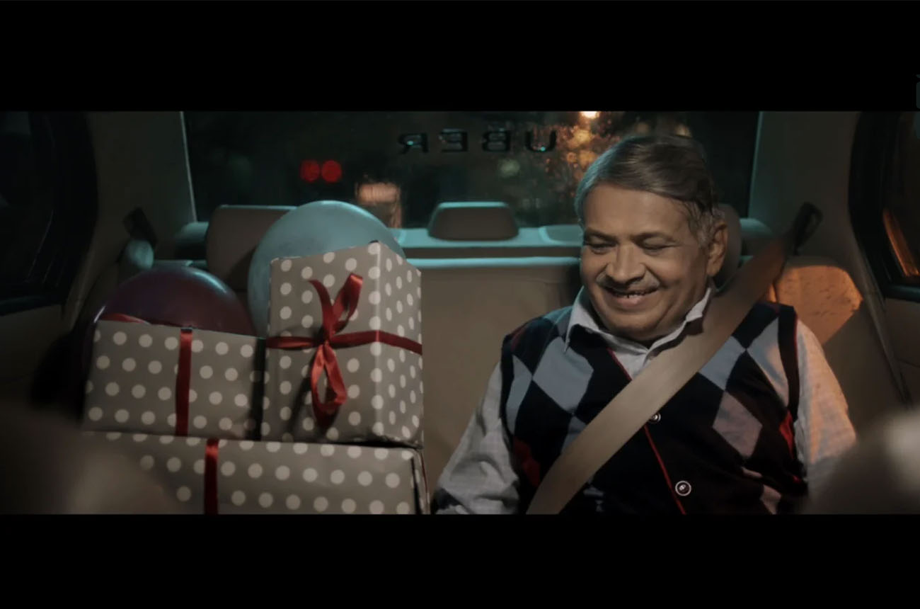 digital tv ad Mumbai UBER : FATHER'S DAY FILM